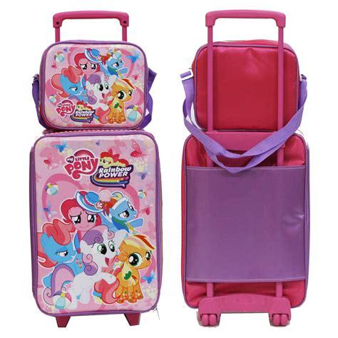 Promo Tas Anak Set Koper Lunch Bag Pony Anak Bahan jual set koper anak pony dan lunch bag bahan sponge tahan air pink di lapak onlan shop