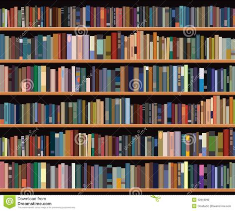 On The Shelf Book Free by Bookshelf Royalty Free Stock Photos Image 13943998