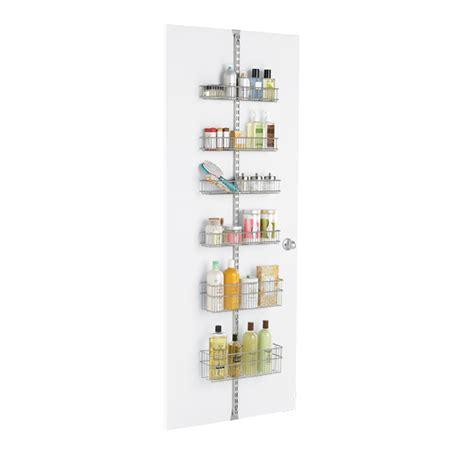 Elfa Wall Rack by Platinum Elfa Bathroom Door Wall Rack Solution The