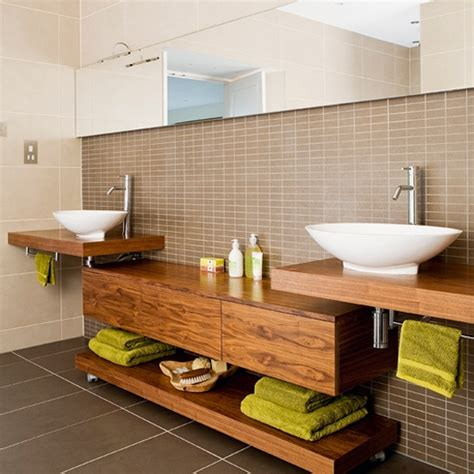 Stylish Bathroom Storage 45 Stylish And Cozy Wooden Bathroom Designs Digsdigs