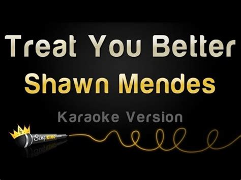 download mp3 free treat you better download shawn mendes treat you better karaoke version