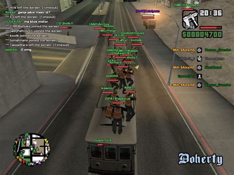game patches grand theft auto san andreas multiplayer