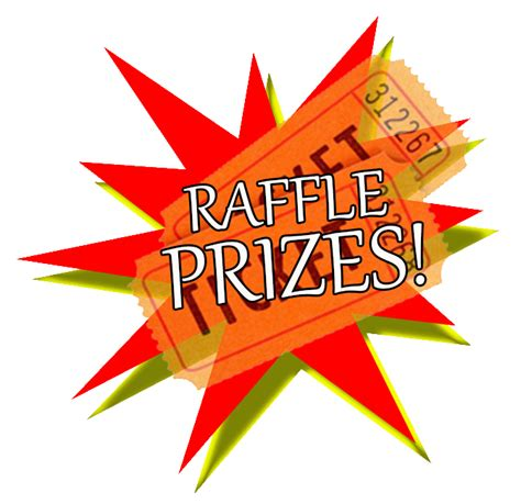 Free Prize Giveaways - raffle prizes clipart