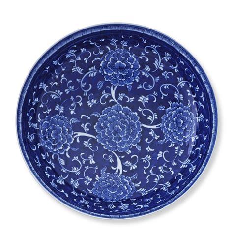 williams sonoma blue and white 3 piece ceramic canister chinoiserie ceramic bowl williams sonoma