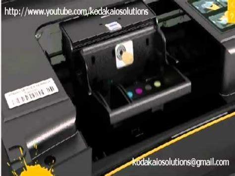 resetting kodak printer how to remove or install a printhead on kodak printer