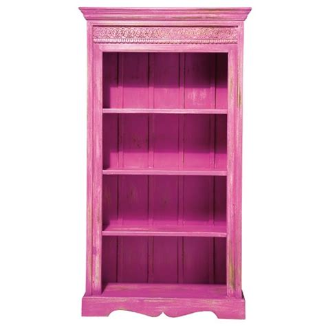 eivissa pink bookcase shelves from the bedroom