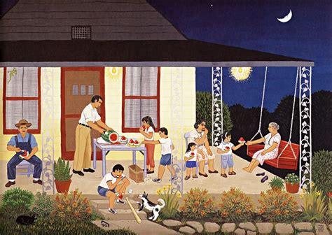 family pictures cuadros de 0892392061 sand 237 a carmen lomas garza pintura naif