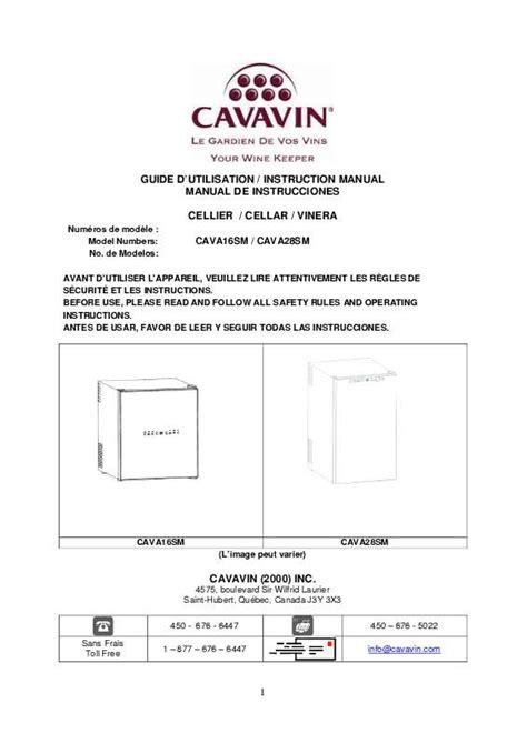 Tongsis Votre Sm 05 mode d emploi cave 224 vin cavavin cava16sm trouver une solution 224 un probl 232 me cavavin cava16sm