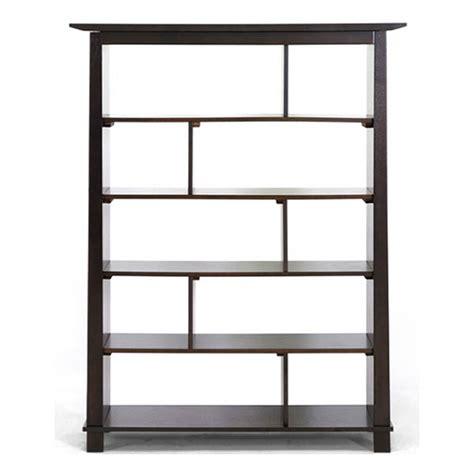 Havana Brown Wood Tall Bookcase Modern Bookcases By | havana brown wood modern bookcase tall dcg stores