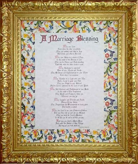 wedding blessing and benediction blessings traditional collection 10 handpicked ideas
