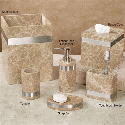 marbella marble bath accessories by veratex