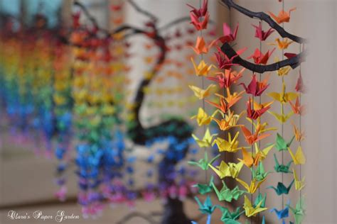 Origami Crane Tree - origami crane bonsai by cridiana on deviantart