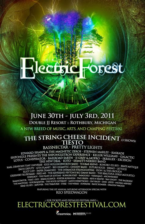 past lineups electric forest