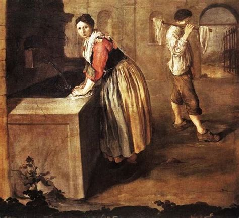 angelus paint houston 18c american doing laundry in the 1700s