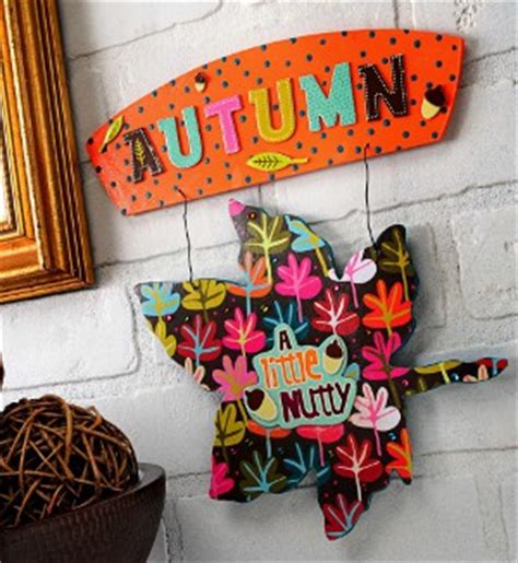 Decoupage Signs - autumn decoupage sign favecrafts