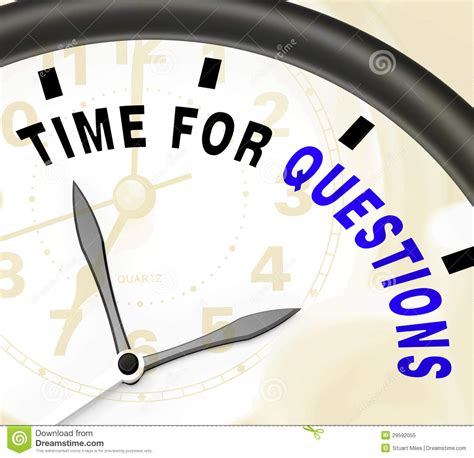 time for questions message showing answers needed royalty