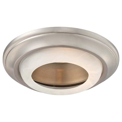 Minka Lavery 6 In Brushed Nickel Recessed Can Trim 2718 Outdoor Recessed Lighting Trim