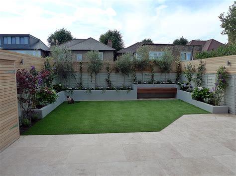 travertine paving patio render block raised beds hardwood london garden blog london garden blog gardens from