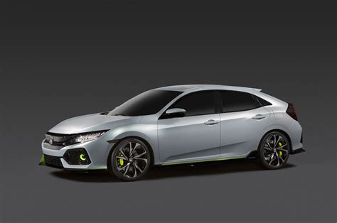 Honda Hatch Back 2017 Honda Civic Hatchback Gets Single Engine Option For U