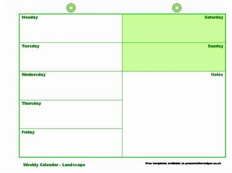 Powerpoint Calendar Template Weekly Safasdasdas Weekly Calendar Template