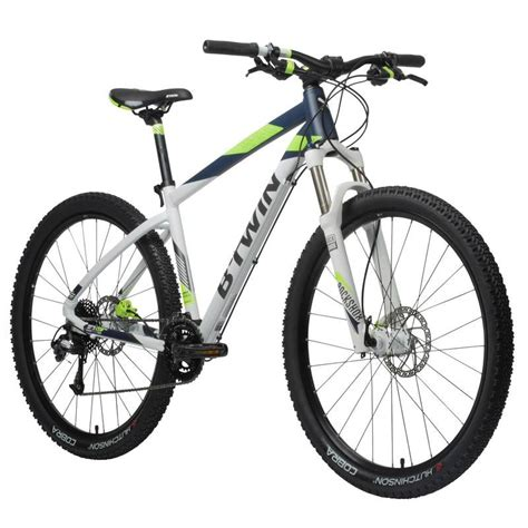 Bt White Bicycle rockrider 560 mountain bike 27 5 quot white blue green