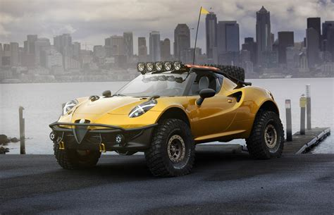 Alfa Romeo 4 by Alfa Romeo 4c Looks Killer However Unlikely In Dakar
