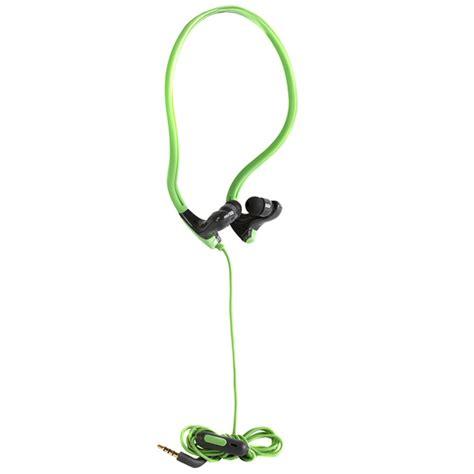 Gear4 Earphones Tweeters Green intempo in ear sport earphones speakers headphones b m