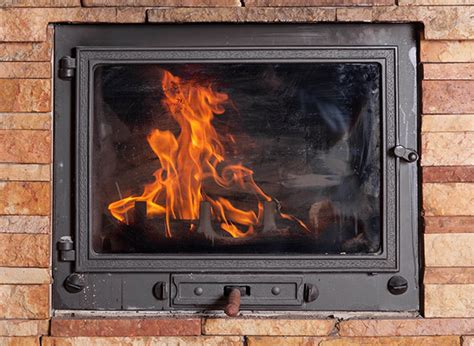 Cleaning Glass Fireplace Doors How To Clean Fireplace Glass Doors Early Times