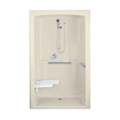 lowes bathroom shower stalls kohler co 1211 freewill barrier free module shower pan