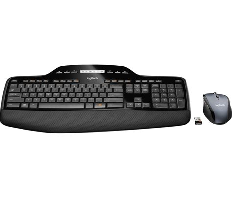 Keyboard Wireless Desktop Logitech Mk250 ensemble clavier souris wireless desktop mk710 logitech