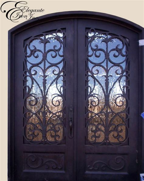 Front Door Wrought Iron Custom Wrought Iron Front Door Doors
