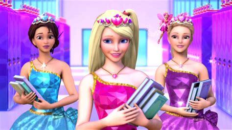 film barbie charm school barbie princess charm school 2011 backdrops the