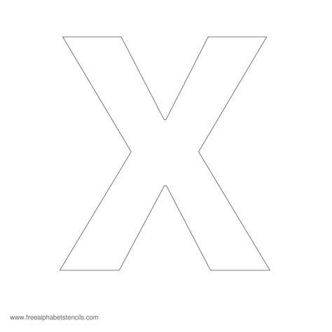 large printable letter x related keywords suggestions for large letter x