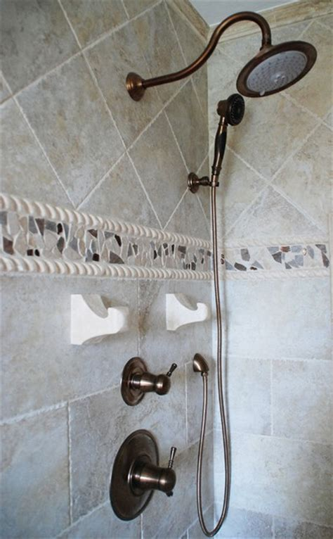shower fixtures contemporary bathroom cleveland by