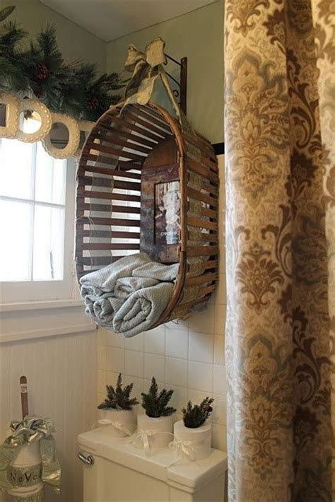 Unique Bathroom Towel Storage Bathrooms Pinterest Unique Bathroom Storage