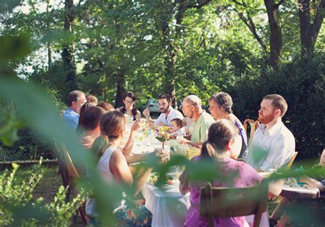 Intimate Backyard Wedding by Intimate Backyard Wedding Josh Real Weddings