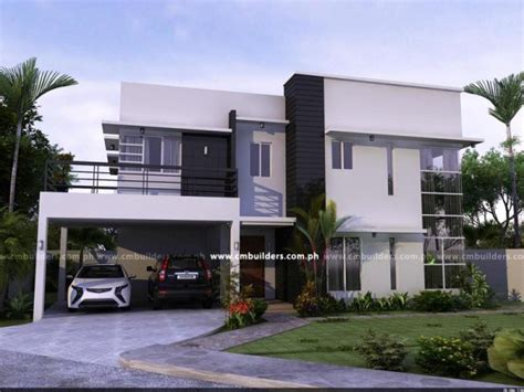 modern design houses in the philippines modern home design cm builders