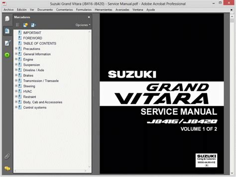 how to download repair manuals 2003 suzuki grand vitara electronic toll collection suzuki grand vitara 2005 2007 workshop repair service manual ebay