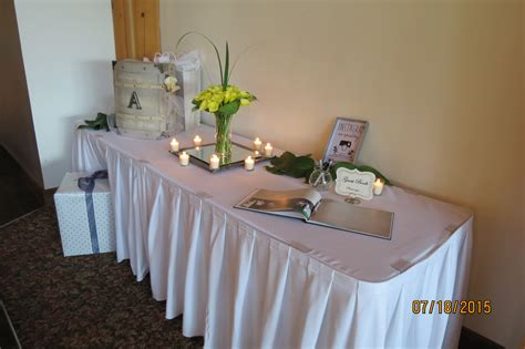 Wedding Gift Table by Wedding Gift Tables Valley Animal Adventure