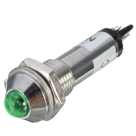 8mm Led Dashboard Panel Indicator Warning Light Bulb L Led Car Light Bulbs