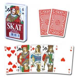 skat deck skat plastic card deck blue