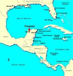 progreso merida mexico caribbean maps www cruises ie