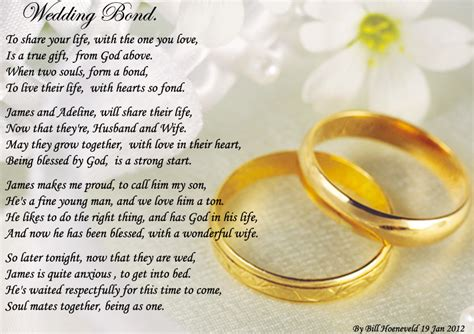 Wedding Congratulation Poems by From A Friend Quotes For The And Groom Wedding