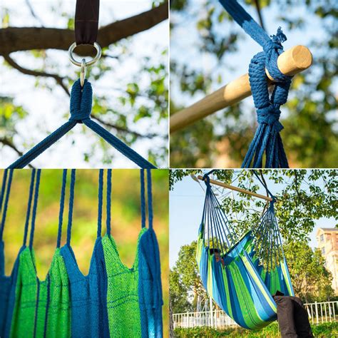 hanging tree swing chair hanging tree swing cotton rope hammock chair seat patio