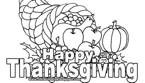 Thanksgiving Printable Cards To Color