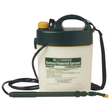 rl flo master 1 3 gal battery powered sprayer 5bp the