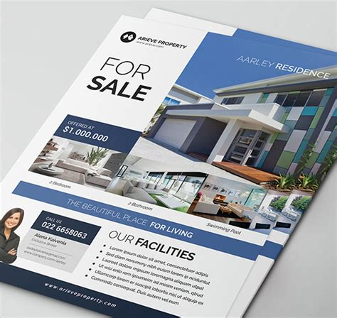 real estate agent flyers templates designs real estate