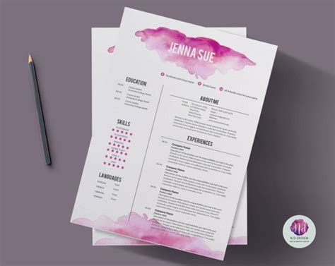 Creative Cover Letter Template by 25 Best Creative Cv Template Ideas On