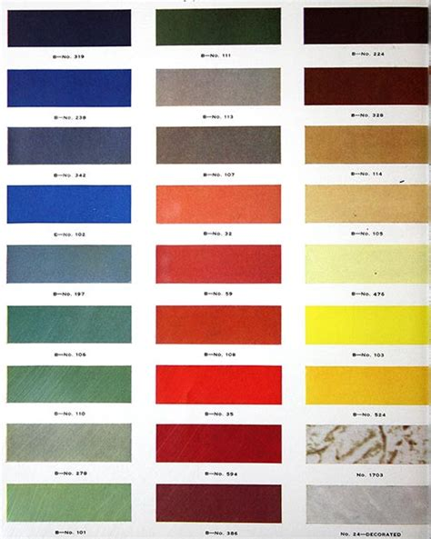 formica colors formica catalog from 1938 50 colors and designs 12