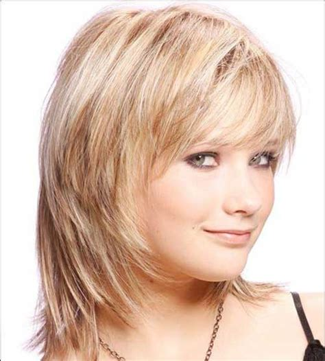bob hairstyles for round faces and thick hair 10 layered bob haircuts for round faces bob hairstyles